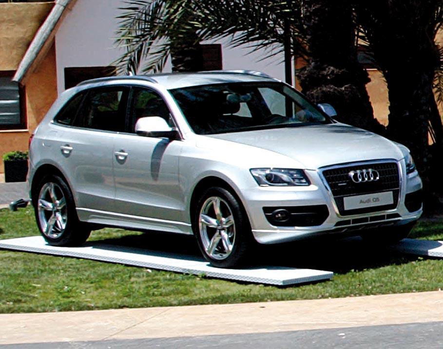 Audi Q5 /Fahrveranstaltung in Valencia