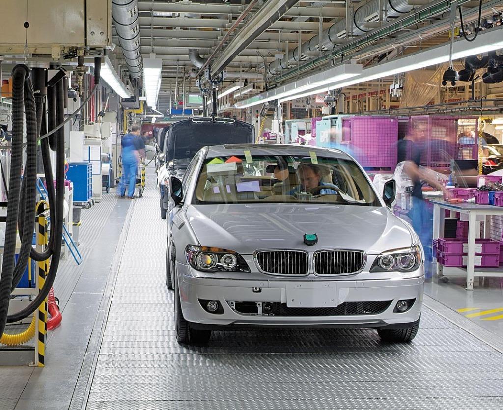 BMW läuft vom Band