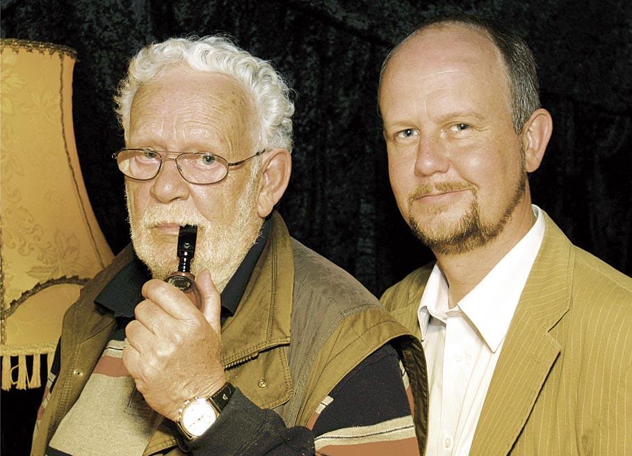Foto Jacques Berndorf mit Ralf Kramp