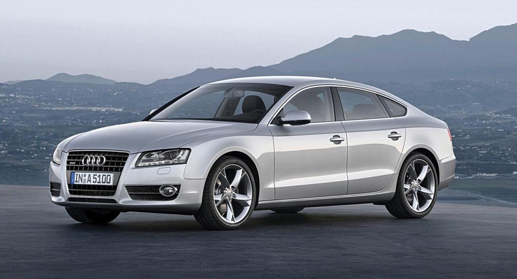Audi A5 Sportback/Standaufnahme