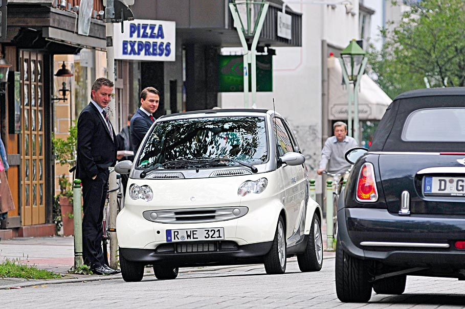 Cityeinsatz e-smart