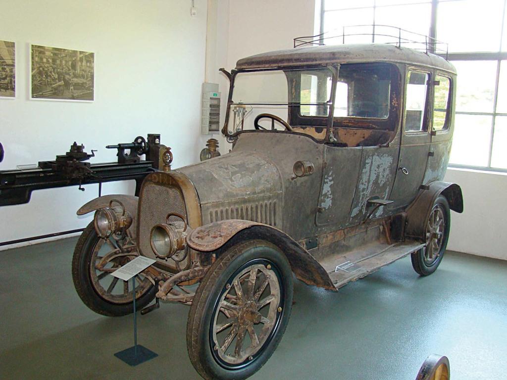 Dixi Typ R9 Limousine von 1912 - unrestauriert