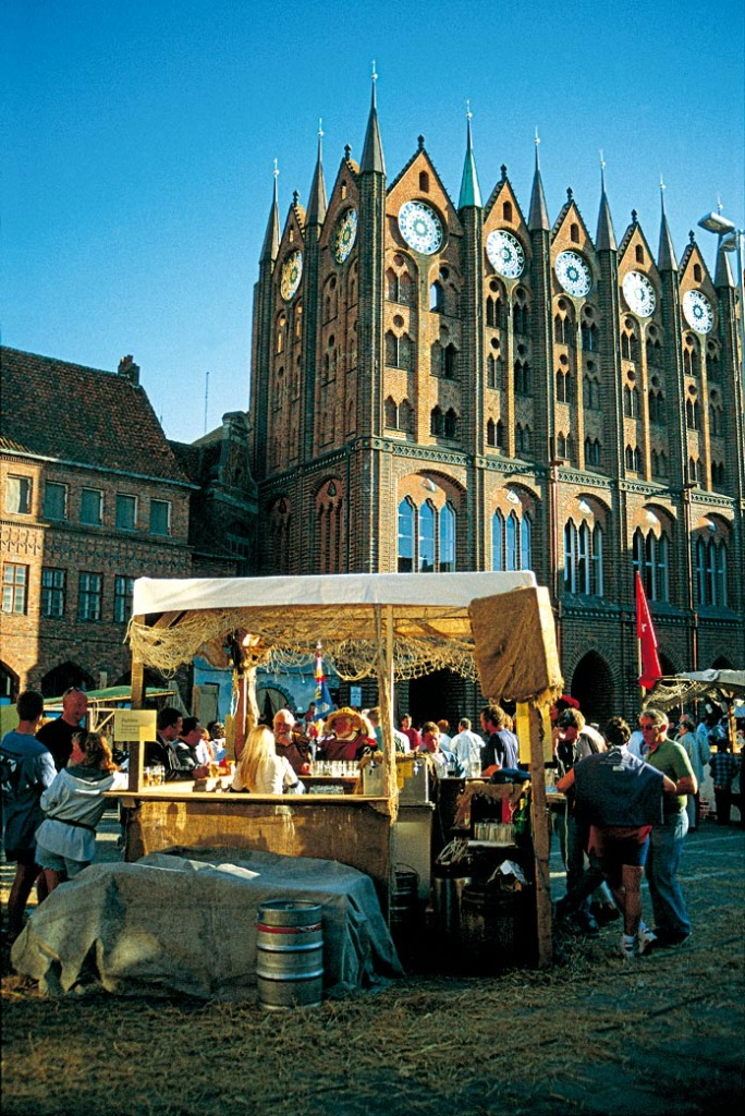 Markttreiben Stralsund
