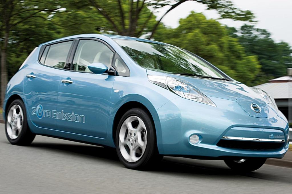 Nissan Leaf statt Citroen C3