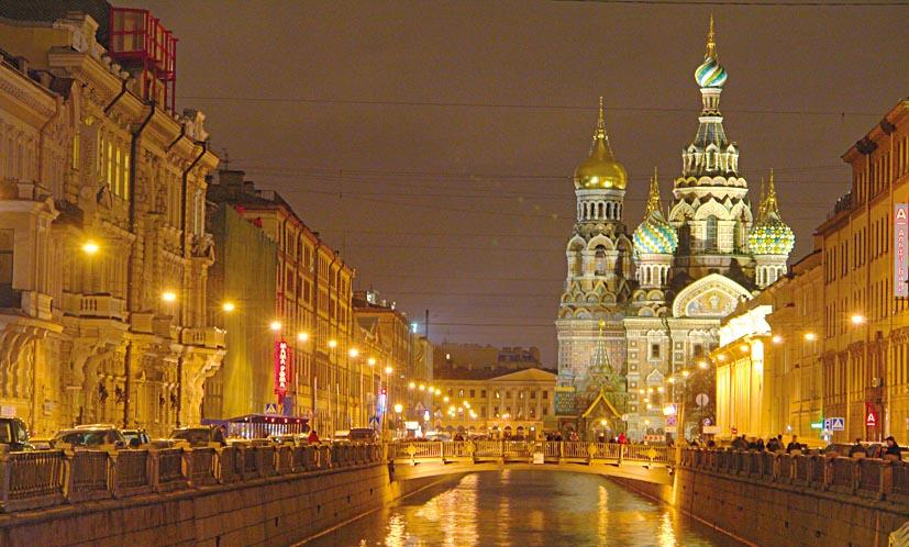 Petersburg Heili Blut Kirche1
