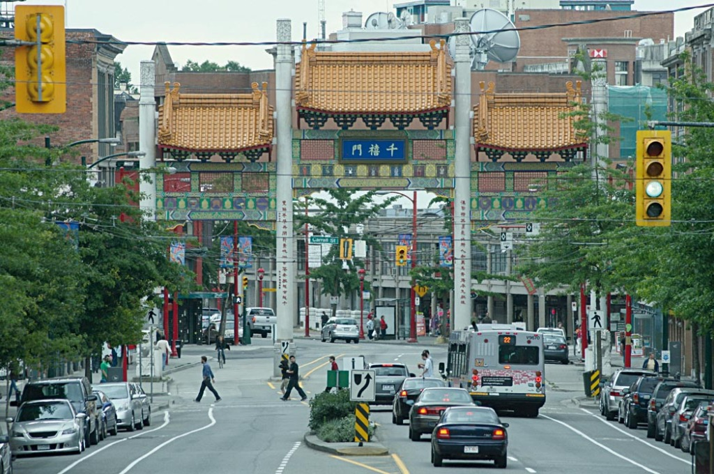 VANCOUVER - Tor zur Chinatown