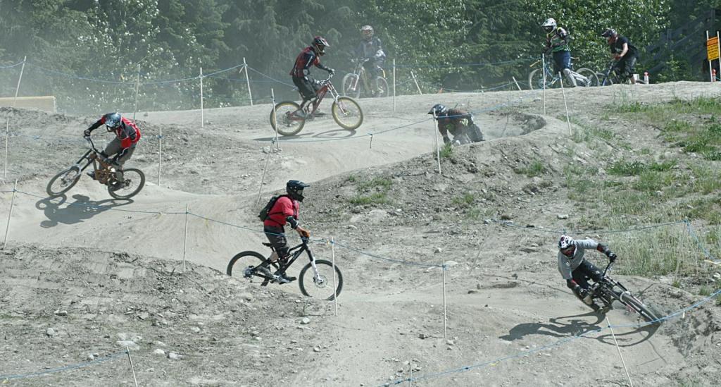 WHISTLER - die Downhillbiker