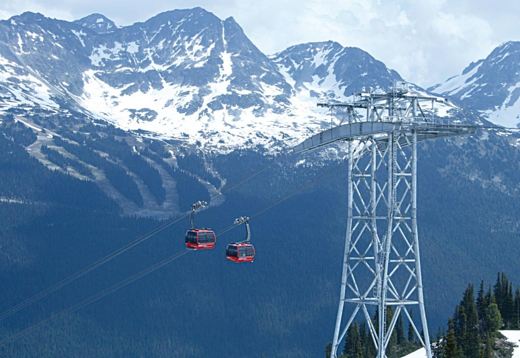 WHISTLER - die Peak 2 Peak Seilbahn