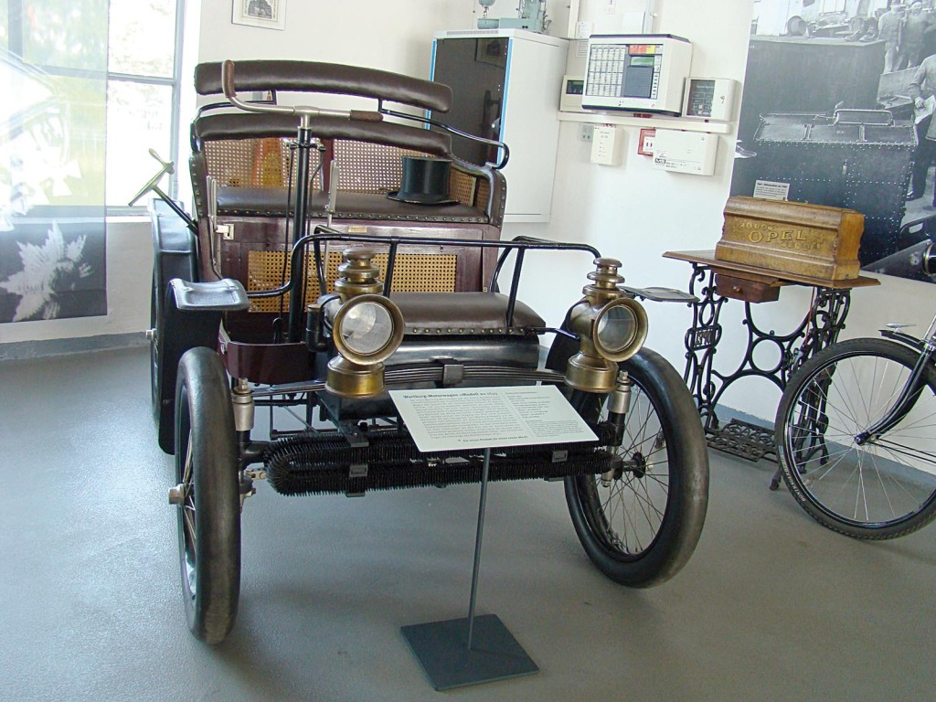 Wartburg Motorwagen Modell 2 von 1899