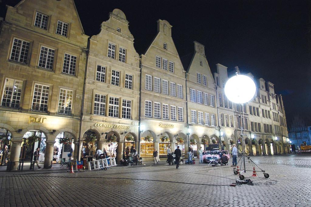 Krimi-Dreh am Prinzipalmarkt Münster