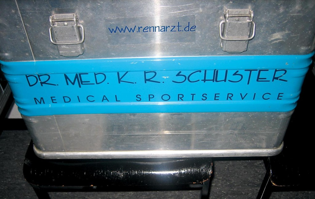 Arztkoffer zwingend
