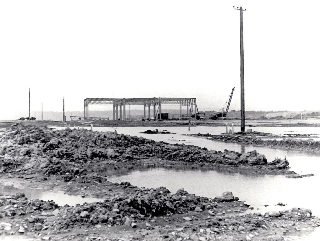 Baubeginn 1966 SLS zwingend