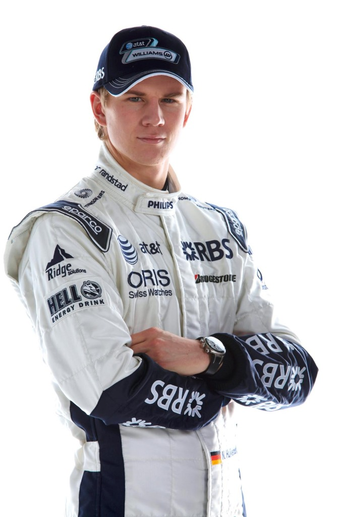 2010 WilliamsF1 Drivers