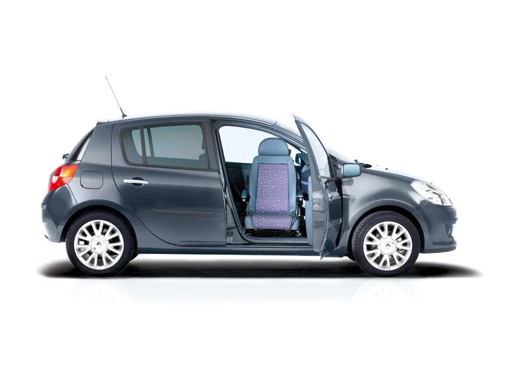 Renault schwenkbarer Beifahrersitz