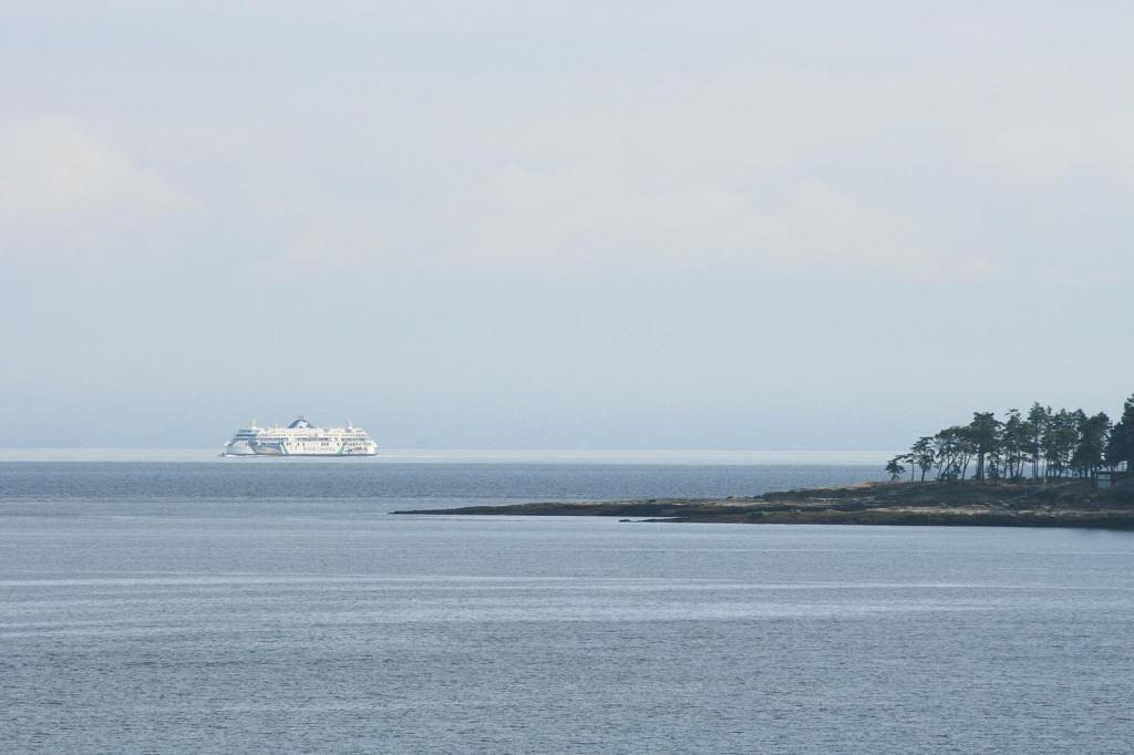 Fährschiff nach Vancouver Island