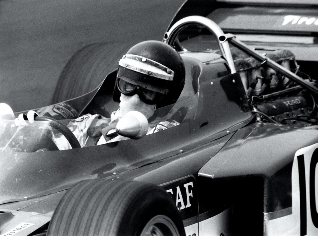 Jochen Rindt beim Fahren
