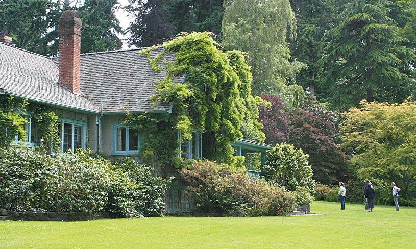 Milner Gardens and Woodland.Wohnhaus von Lady Milner