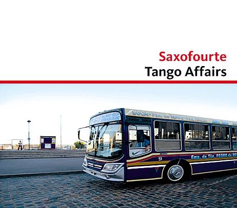 CD Cöver Saxofourte Tango Affairs