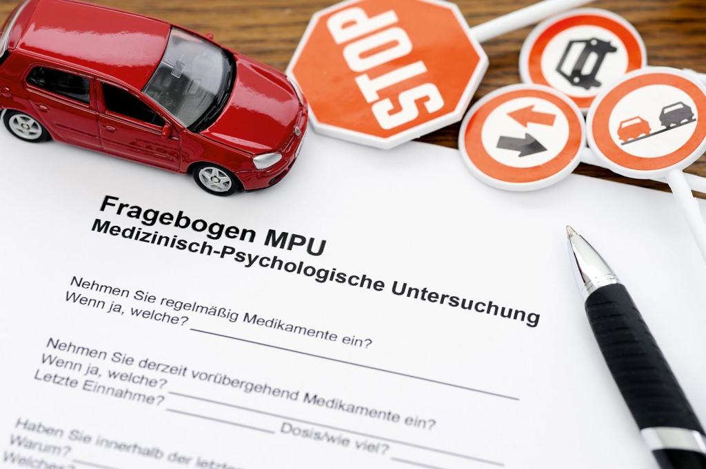 Fragebogen MPU, Medizinisch Psychologische Untersuchung, Idiotentest