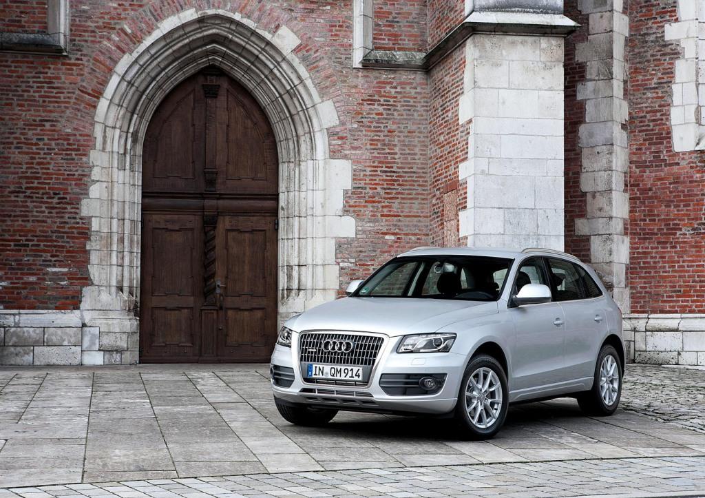 Audi in der Stadt Ingolstadt
