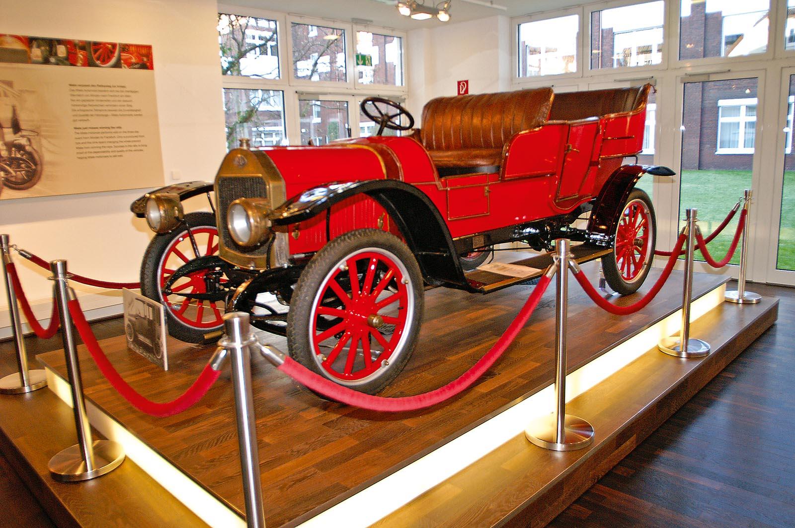 Vor 100 Jahren startete die Produktion von Miele-Autos – KÜS magazin