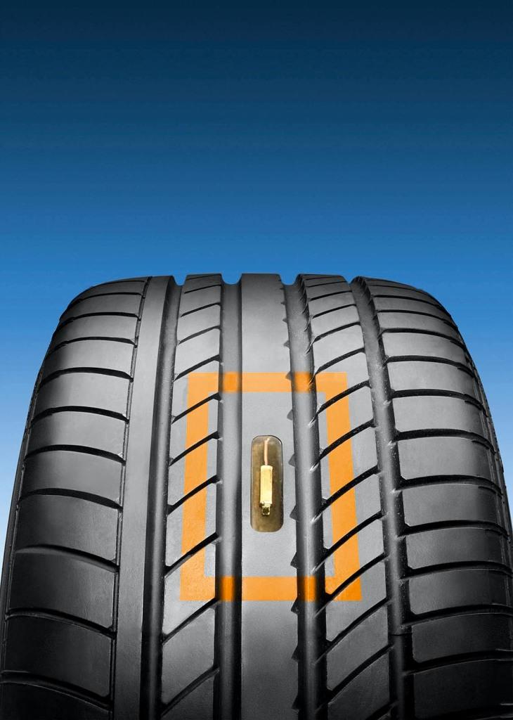 Zukunft_Sensoren im Reifen informieren die Regelsysteme