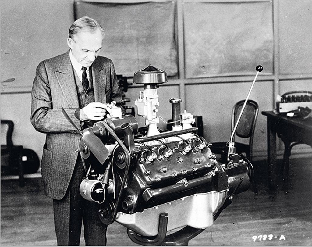 Hnery Ford Achtzylinder Motor