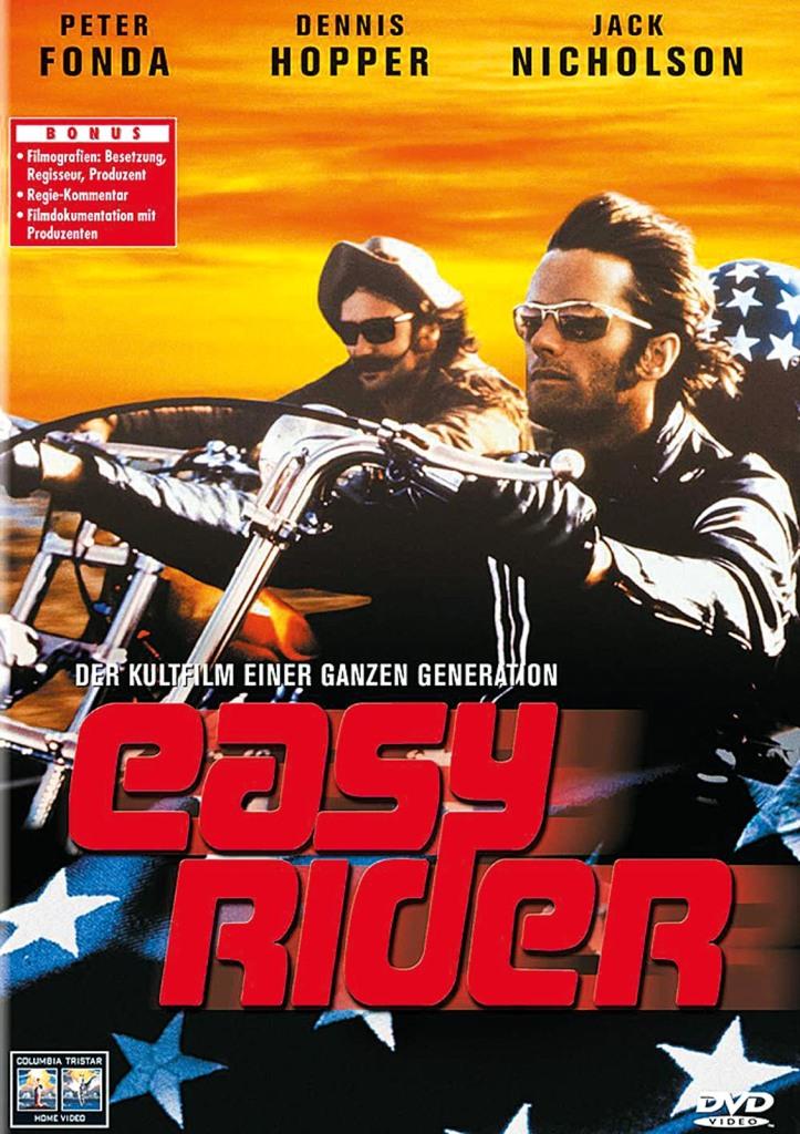 """""""Easy Rider"""": Der Kultfilm begründete ein eigenes Genre"""
