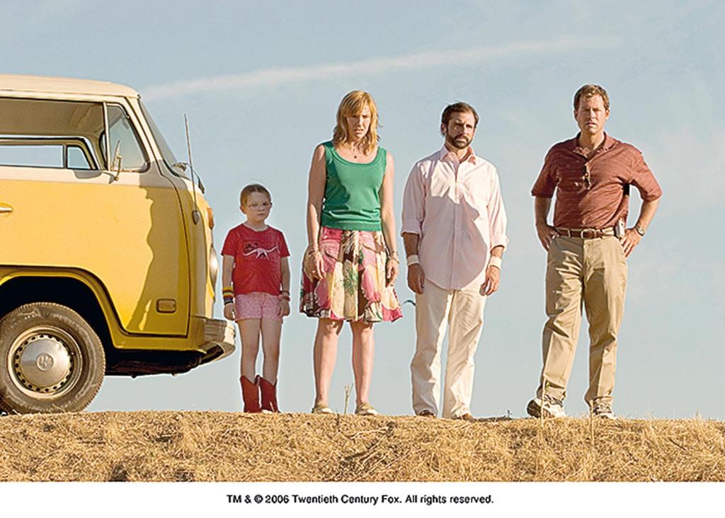"""""""Little Miss Sunshine"""": Es bedarf schon einer Familienreise im familientauglichen VW Bulli, um die angestauten Probleme wirklich gut zu lösen. Ende gut, alles gut."""