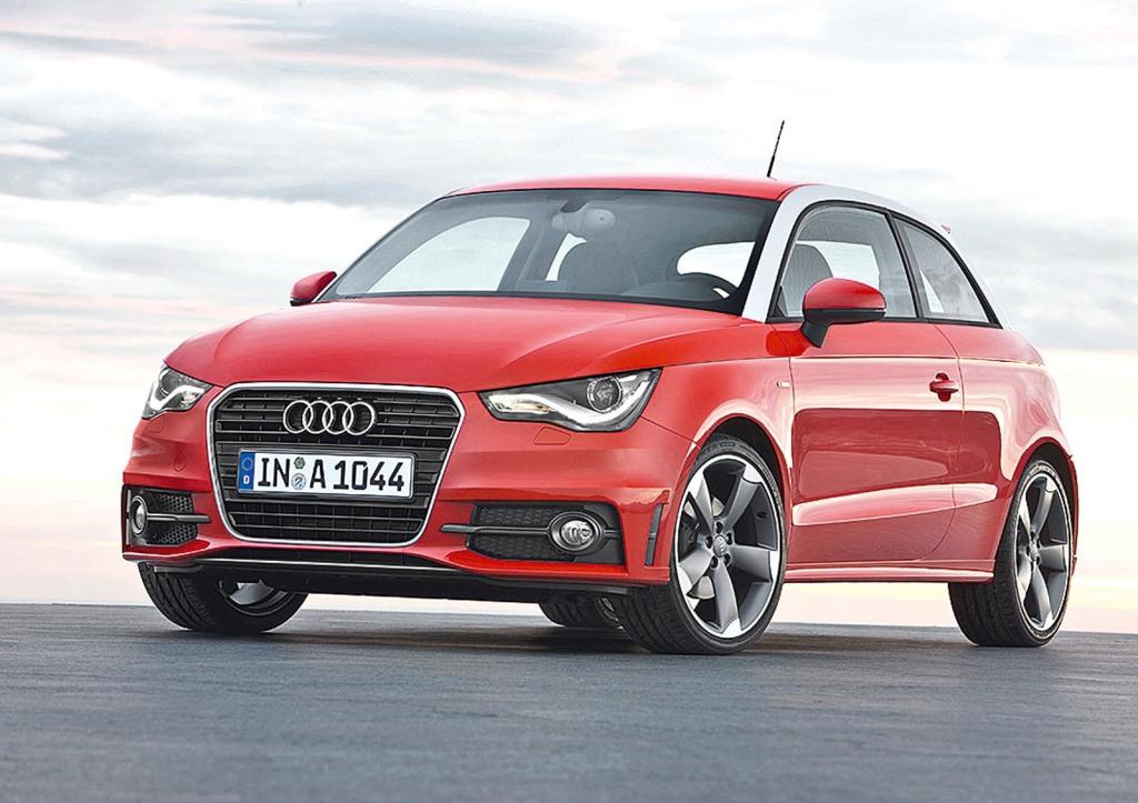 Audi A1 S line/Standaufnahme