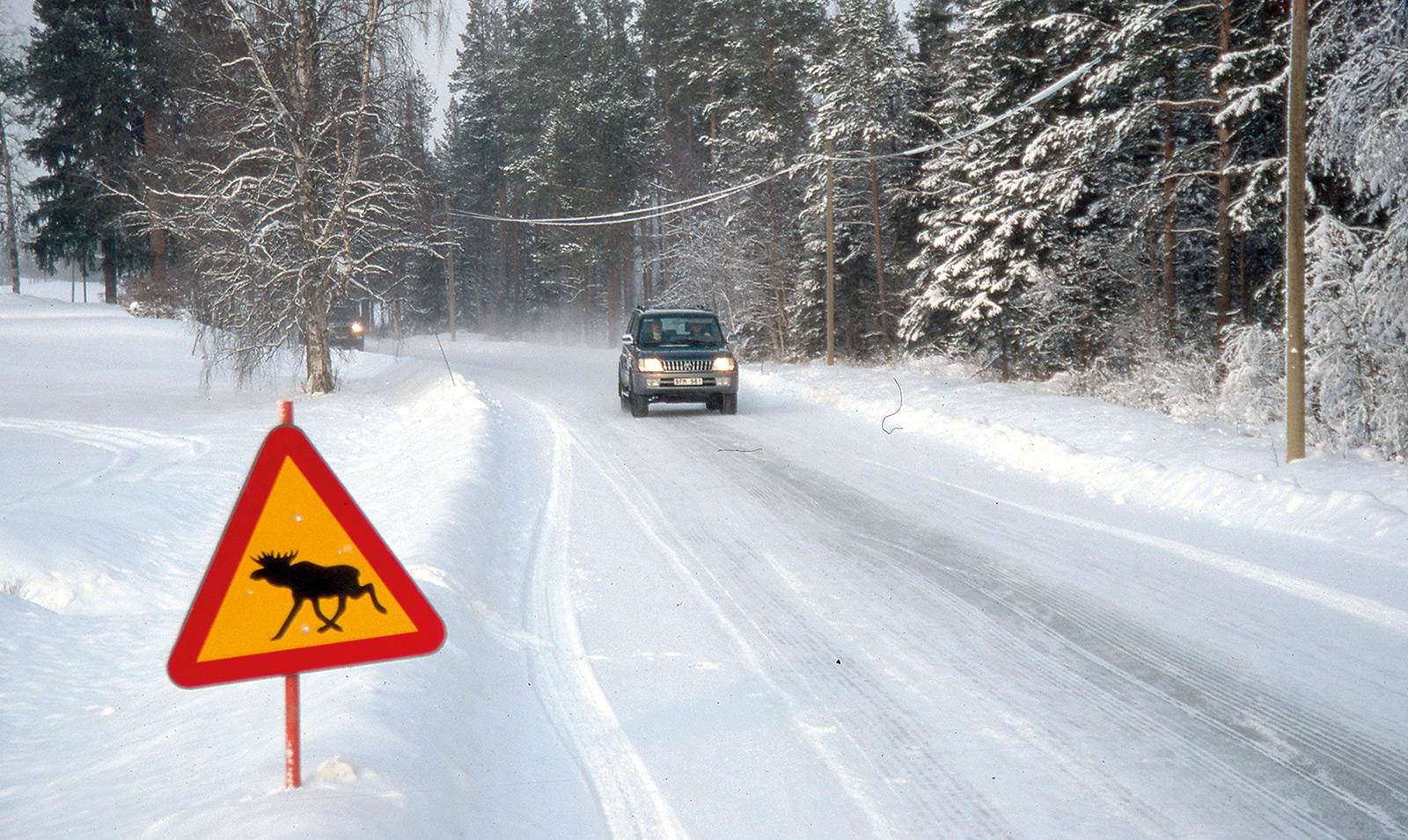 Schnee Straße