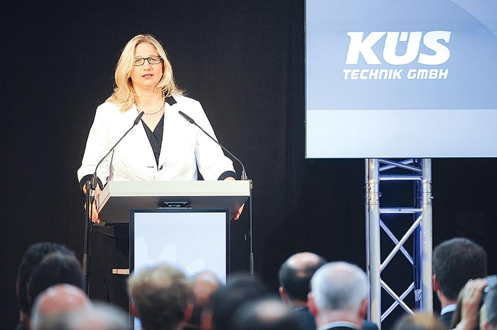 Anke Rehlinger, Ministerin für Wirtschaft, Arbeit, Energie und Verkehr des Saarlandes
