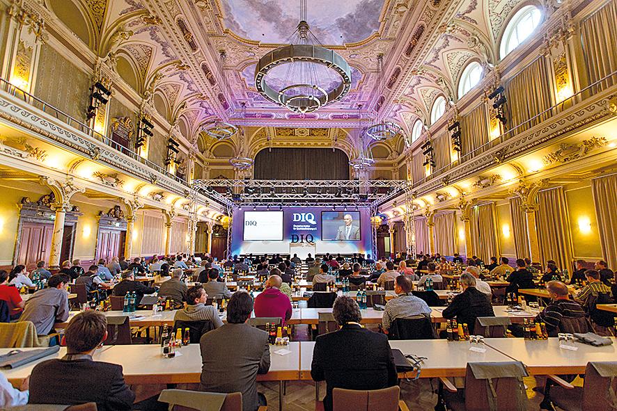 DIQ Symposium 2014 in der historischen Satdthalle in Wuppertal