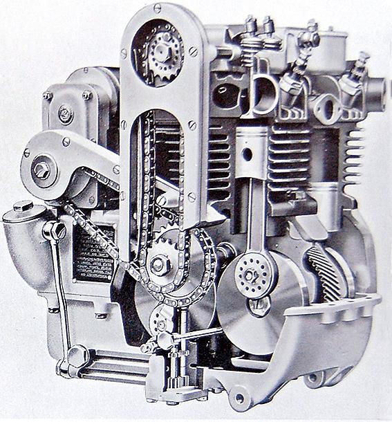 Ariel Motor rechts