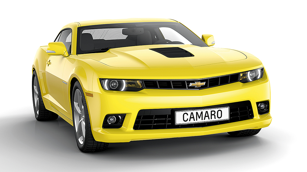 Chevrolet Camaro coupe (MY2014)