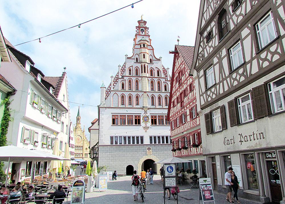 Bad Waldsee Rathaus 2015