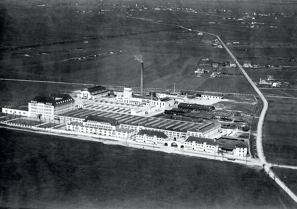 BMW Gebäude 1918 zwingend Kopie