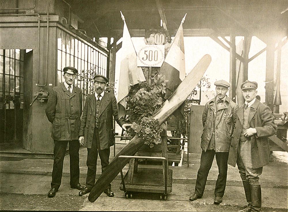 BMW Produktionsjubiläum 1918 Kopie