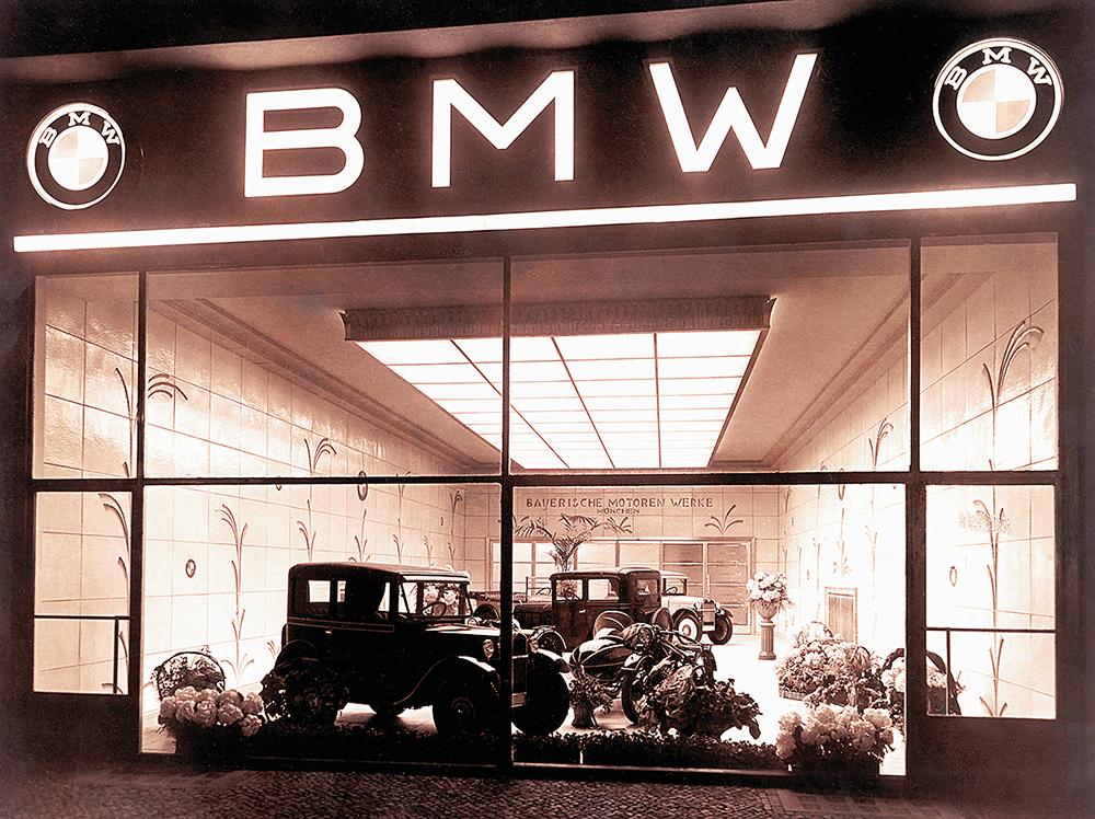 ZWINGEND BMW wird Automobilhersteller Kopie