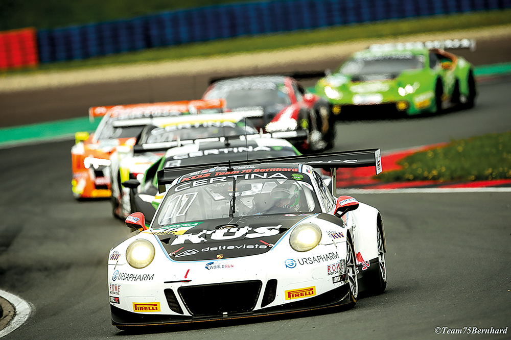 Das KÜS Team Bernhard mit Porsche im ADAC GT Masters