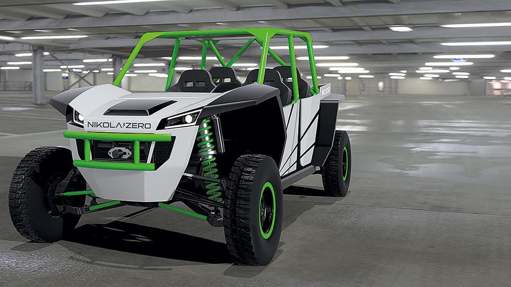 Das zweite Konzept von Nikola Motor ist ein Nikola Zero genanntes UTV