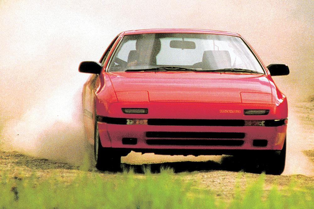 Die deutschen Hersteller hatten den Wankelmotor bereits aufgegeben, als Mazda mit dem RX-7 einen der meistgebauten Sportwagen auflegte