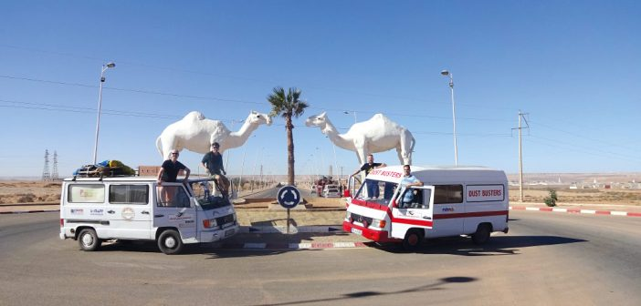 Die »Dust- & Dieseltour« in den Sénégal