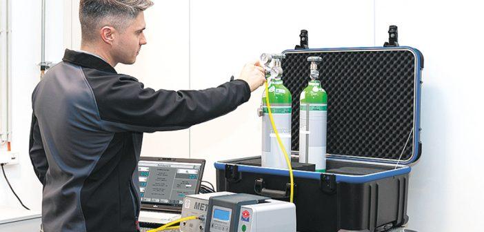 Dienstleister DIQ Zert GmbH kalibriert auch Abgasuntersuchungsgeräte