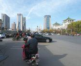 Straßenverkehr in China