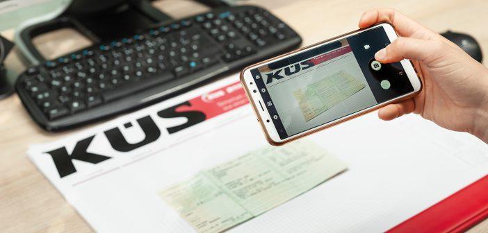 KÜS DATA: Fahrzeugschein digital